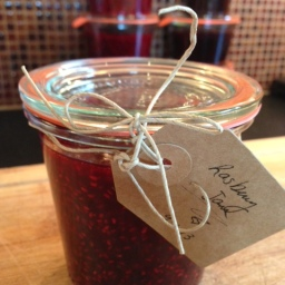 This Labor Day we made jam. Darn good jam.