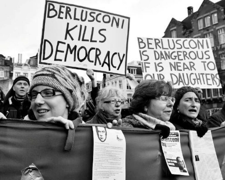 Protest, Berlusconi, Italian Women